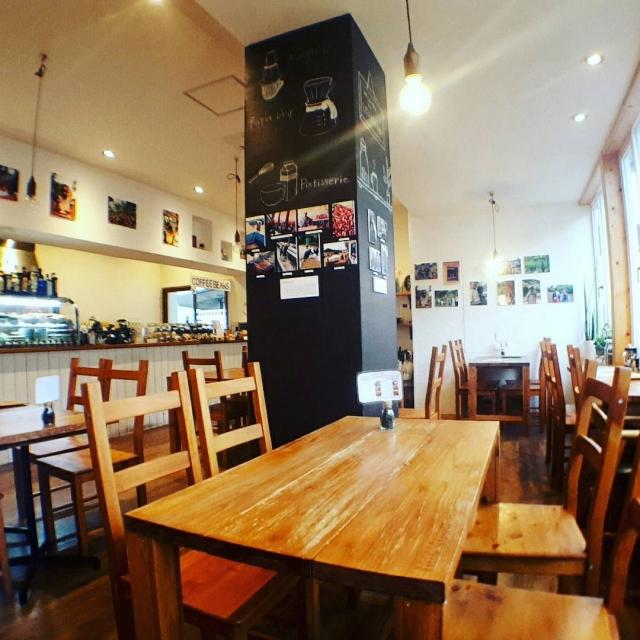 カフェ店内の様子